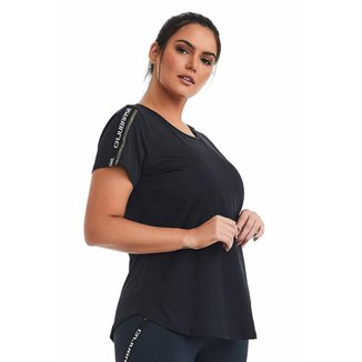 T-Shirt Plus Size Stylish  CAJUBRASIL feminina