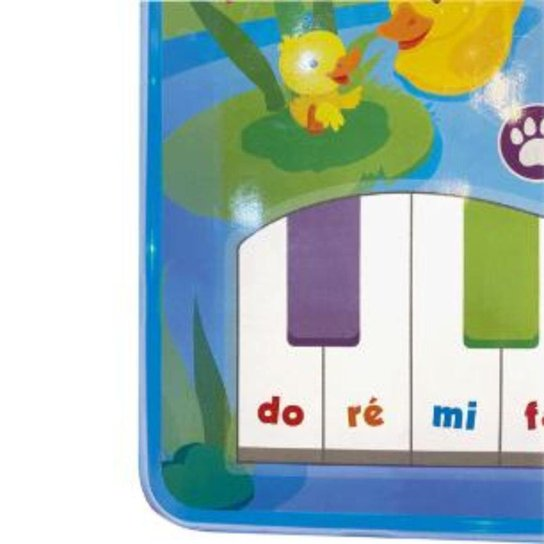 Tablet Cantando Com Os Animais Buba Baby - Azul