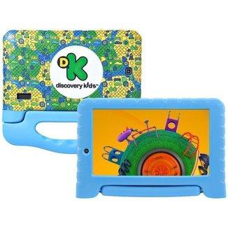 Tablet Infantil Discovery Kids com Capa Multilaser