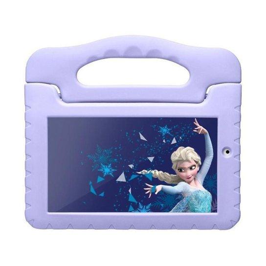 Tablet Infantil Multilaser Frozen Plus com Capa - Lilás