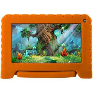 Tablet Infantil Multilaser Kid Pad Go com Capa