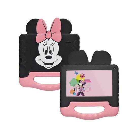 Tablet Infantil Multilaser Minnie Mouse com Case - Incolor