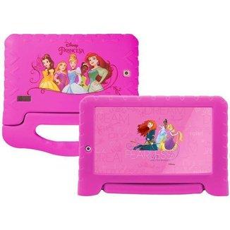 Tablet Infantil Princesas Plus com Capa Multilaser