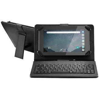 """Tablet Multilaser M7S Go com Teclado 7"""" Wi-Fi 16GB"""