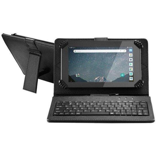"""Tablet Multilaser M7S Go com Teclado 7"""" Wi-Fi 16GB - Preto"""