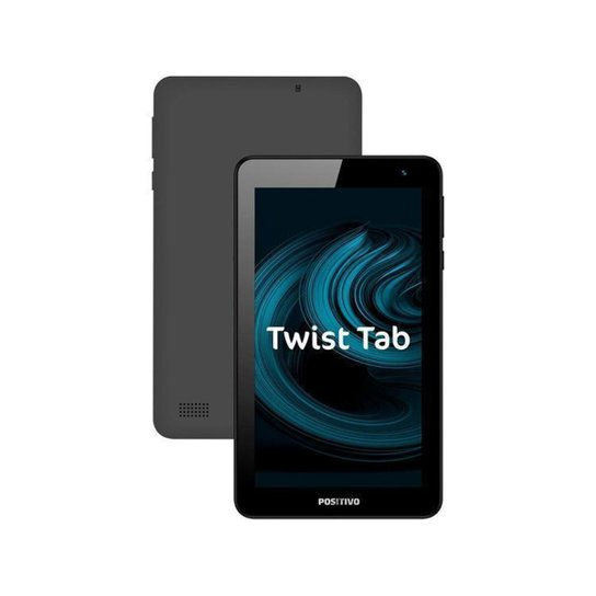 "Tablet Positivo Twist Tab 7"" Wi-Fi 32GB - Cinza"