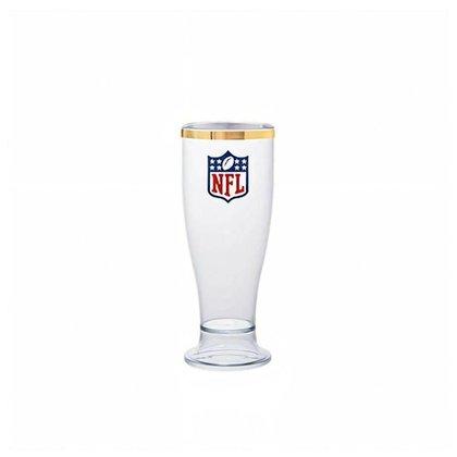 Taça Tulipa 260ml Acrílico Linha Ouro NFL Logo - NFL