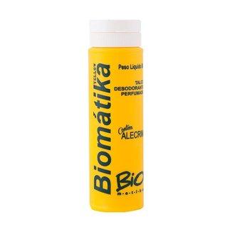 Talco Desodorante Para os Pés Perfumado Yellow Alecrim Biomátika 80g