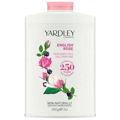 Talco Perfumado Yardley English Rose 200g