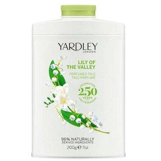 Talco Perfumado Yardley Lily of the Valley 200g