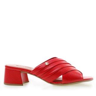 Tamanco Bottero Summer Vibes Red Feminino
