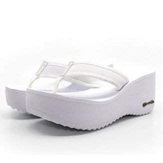 Tamanco Plataforma Anabela Feminino Barth Shoes Hibisco