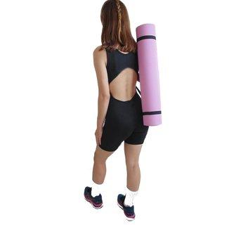Tapete Colchonete Portátil com Alça para Yoga Pilates WCT Fitness