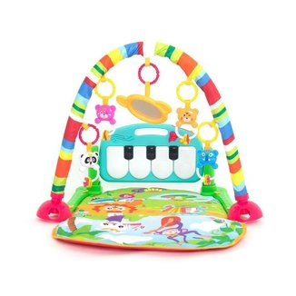 Tapete de Atividades Musical Piano para Bebê - Verde - Dican