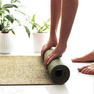 Tapete de yoga 100% ecológico Juta Pro, aderente, ecológico e durável  4mm 183cm x 60cm Bodhi