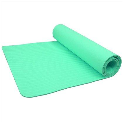 Tapete de Yoga Premium Em TPE Com Bolsa Para Exercicios Pilates 6mm