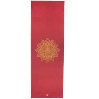 Tapete de yoga pvc premium eco Rishikesh estampado Mandala, antiderrapante 4.5mm 183 x 60cm