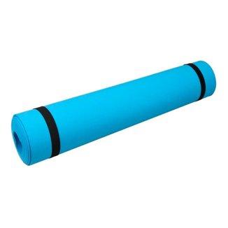 Tapete de Yoga Texturizado Com Alça Pilates Exercicios 5MM 173x60cm