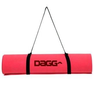 Tapete De Yoga Texturizado Profissional Dagg Premium Com Alça Para Transporte