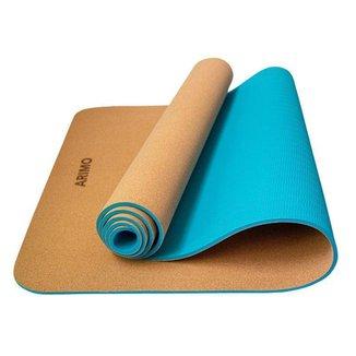 Tapete de Yoga TPE Cortiça Arimo Balance Unissex