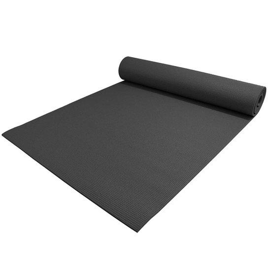 Tapete Texturizado Para Yoga Aiker - Preto
