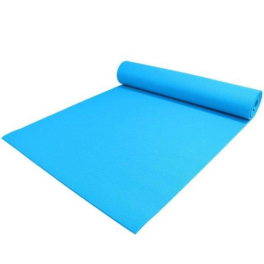 Tapete Texturizado Para Yoga Aiker - Azul