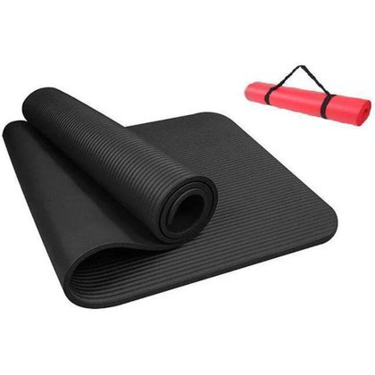 Tapete Yoga Ginástica Pilates Exercícios Fisioterapia NBR 10 mm