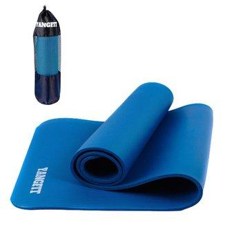 Tapete Yoga Pilates Exercícios com Bolsa 183x61x1,0cm Yangfit