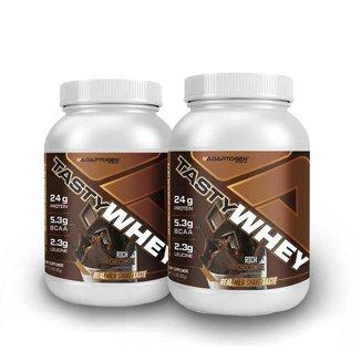 Tasty Whey Chocolate 2 Lbs - Adaptogen 2 Un