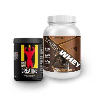 Tasty Whey Chocolate 2 Lbs e Creatina 200g