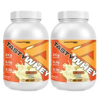 Tasty Whey Leite Condensado 2 Lbs - Adaptogen 2 Un