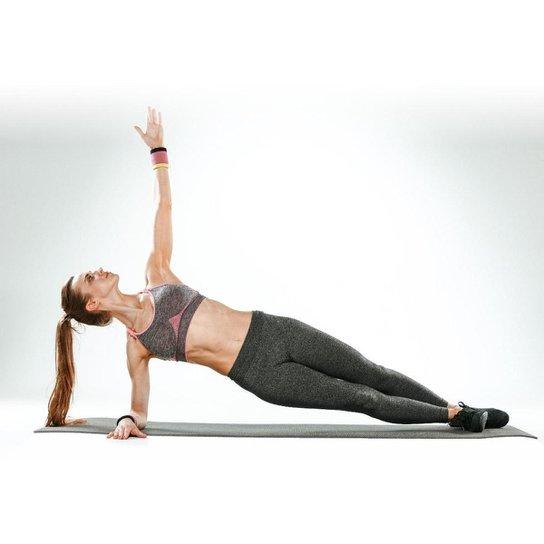 Tatame Esteira Para Yoga Exercícios Físicos 1,50mx50cmx6mm - Rosa