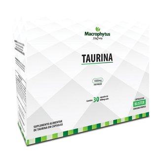 Taurina 400mg 30 cápsulas (Blister)