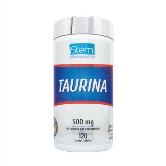 Taurina 500mg (120 Comprimidos) - Stem Pharmaceutical -