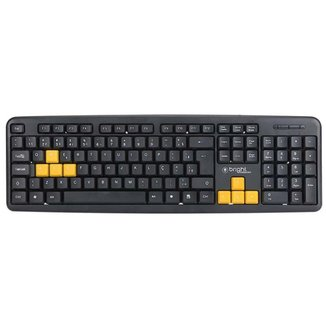Teclado Gamer Basic USB Qwerty Abnt2 551 Bright