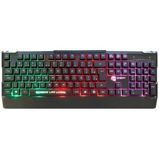 Teclado Gamer ELG Enemy USB - ABNT2