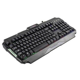 Teclado Gamer Sate AK-837 RGB USB