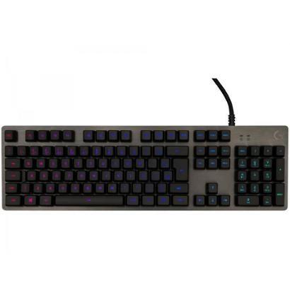 Teclado Mecânico Gamer RGB Logitech G512 Carbon USB - ABNT2
