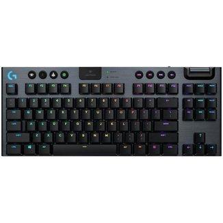 Teclado Mecânico Gamer sem Fio Logitech RGB