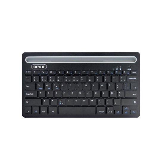 Teclado Oex Class Tc-502 Bluetooth - Preto - Preto
