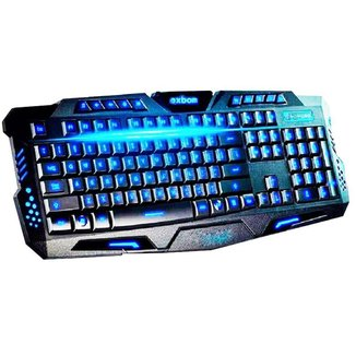 Teclado Prorider Acme Inc Multimídia Action Gamer BK