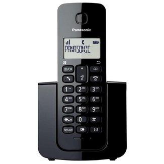 Telefone sem fio Panasonic Sem fio KX-TGB110 Preto