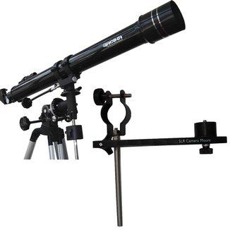 Telescópio Equatorial Refrator 900X70mm Greika + Adaptador de Câmeras SLR