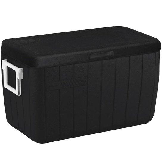 Tenda Gazebo Oxford 3X3m + Caixa Térmica 45,4L Coleman All Black Preto Com Alças - Verde
