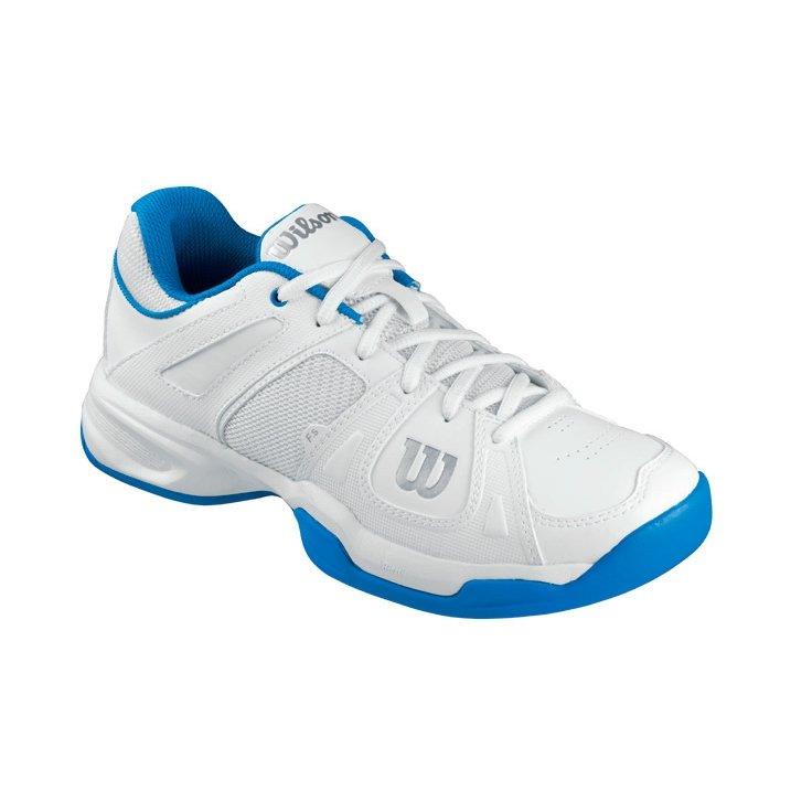b187f1413bc Tênis Access Feminino Branco Azul 39 - Wilson - Compre Agora