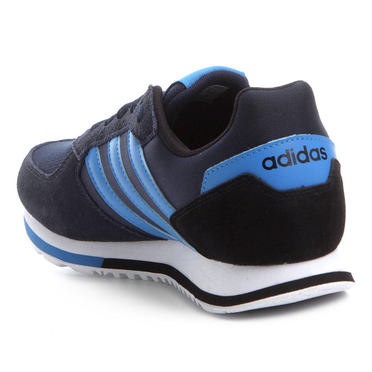 c36d704db8 Tênis Adidas 8K Masculino - Preto e Azul - Compre Agora