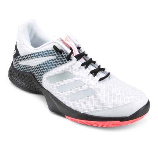 Tênis Adidas Adizero Club 2 Masculino - Branco+Cinza