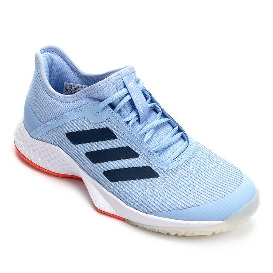 Tênis Adidas Adizero Club Feminino - Azul+Marinho