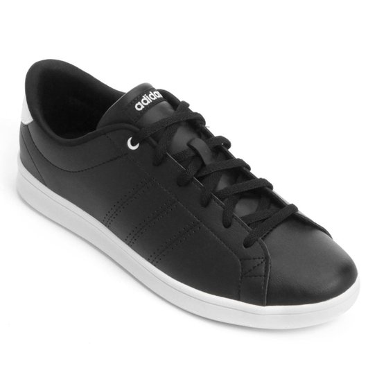 Tênis Adidas Advantage Clean Qt Feminino - Preto