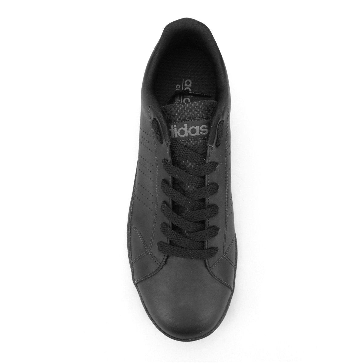 ... elegant shoes Tênis Adidas Advantage Vs Clean - Preto - Compre Agora  Netshoes 03f18 0a853 ... 61b1f050e1dba
